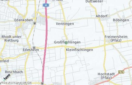 Stadtplan Großfischlingen