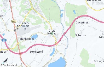 Stadtplan Groß Grönau