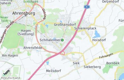 Stadtplan Großhansdorf