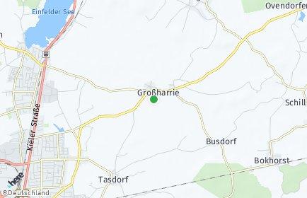 Stadtplan Großharrie