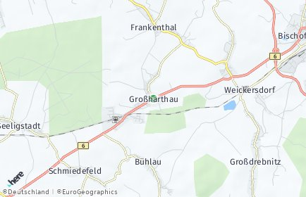 Stadtplan Großharthau