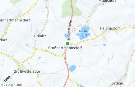 Stadtplan Großhartmannsdorf