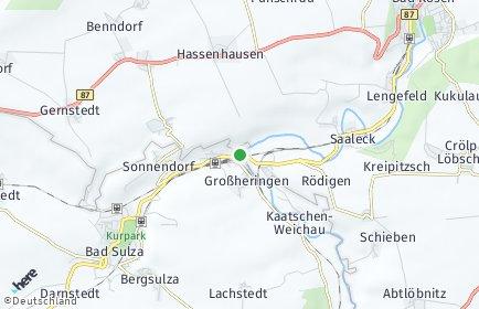Stadtplan Großheringen