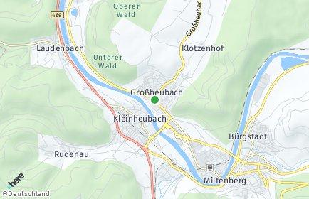 Stadtplan Großheubach