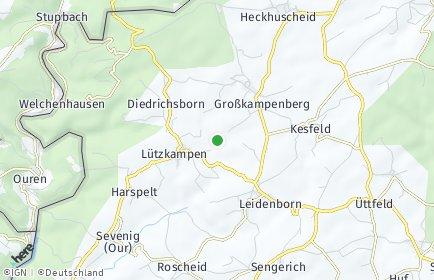 Stadtplan Großkampenberg