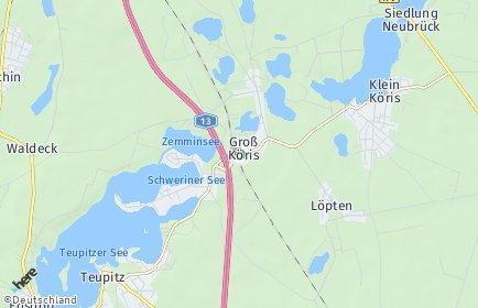 Stadtplan Groß Köris