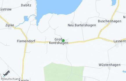 Stadtplan Groß Kordshagen