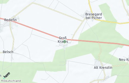Stadtplan Groß Krams