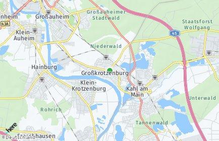 Stadtplan Großkrotzenburg