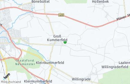 Stadtplan Groß Kummerfeld