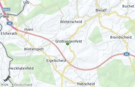 Stadtplan Großlangenfeld