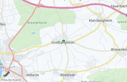 Stadtplan Großlangheim