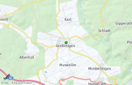 Stadtplan Großlittgen
