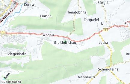 Stadtplan Großlöbichau