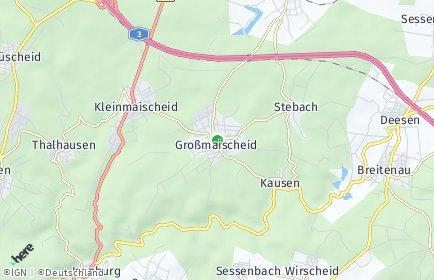 Stadtplan Großmaischeid