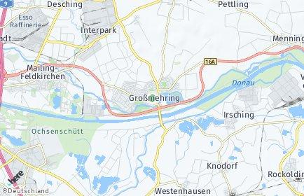 Stadtplan Großmehring