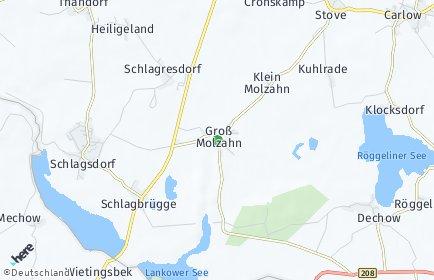 Stadtplan Groß Molzahn