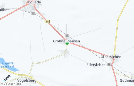Stadtplan Großneuhausen