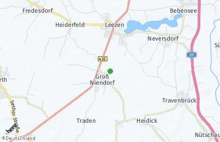 Stadtplan Groß Niendorf