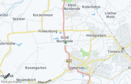 Stadtplan Groß Nordende