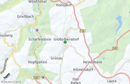 Stadtplan Großolbersdorf