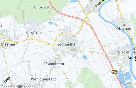 Stadtplan Großostheim