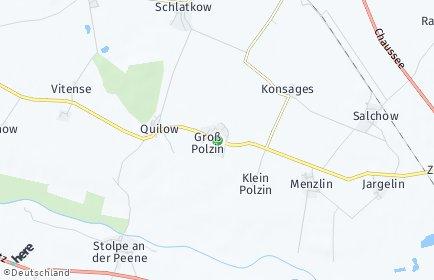 Stadtplan Groß Polzin
