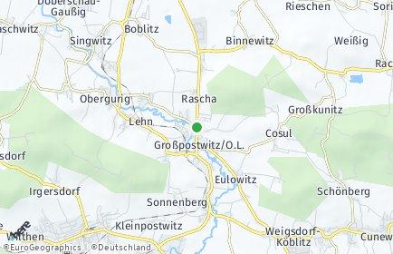 Stadtplan Großpostwitz