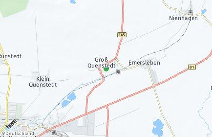 Stadtplan Groß Quenstedt