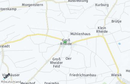 Stadtplan Groß Rheide