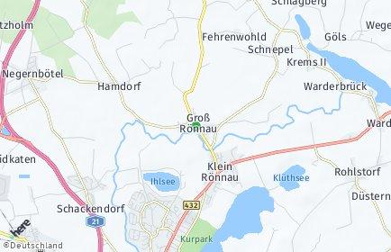 Stadtplan Groß Rönnau