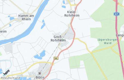 Stadtplan Groß-Rohrheim