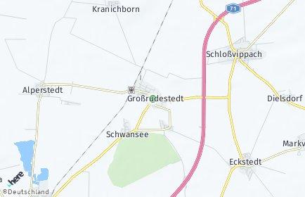Stadtplan Großrudestedt