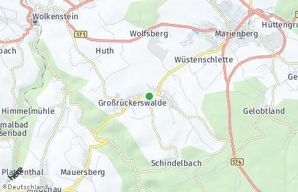 Stadtplan Großrückerswalde