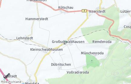 Stadtplan Großschwabhausen