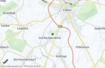 Stadtplan Großschweidnitz