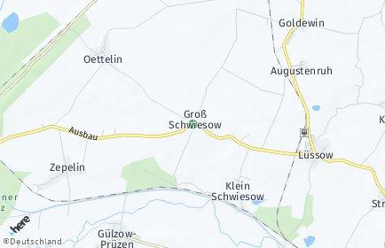 Stadtplan Groß Schwiesow