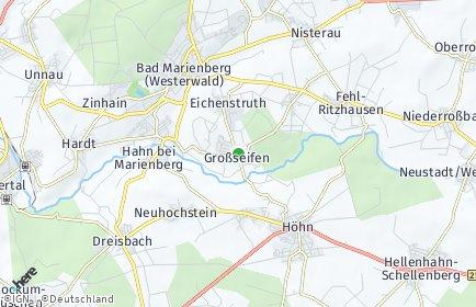 Stadtplan Großseifen