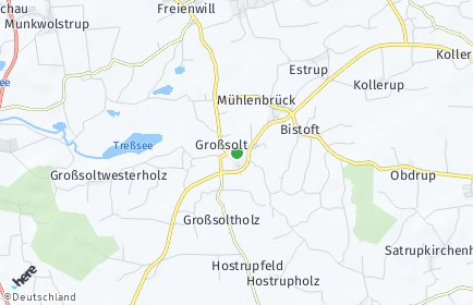 Stadtplan Großsolt