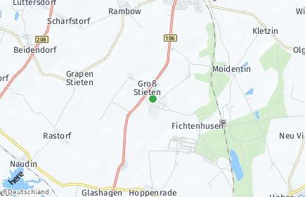 Stadtplan Groß Stieten