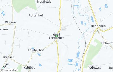Stadtplan Groß Teetzleben