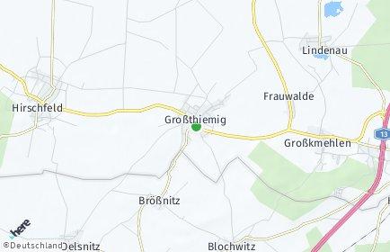 Stadtplan Großthiemig