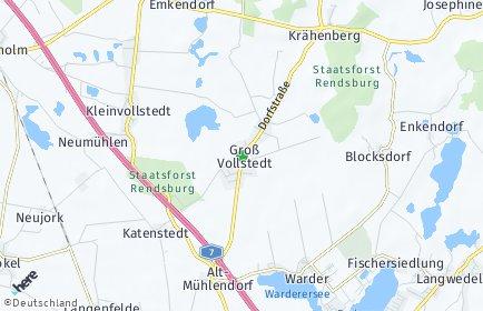 Stadtplan Groß Vollstedt