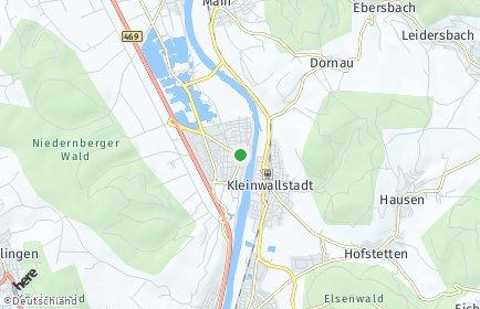 Stadtplan Großwallstadt