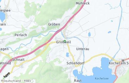 Stadtplan Großweil