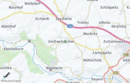 Stadtplan Großweitzschen