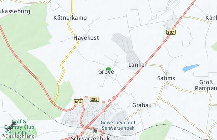 Stadtplan Grove