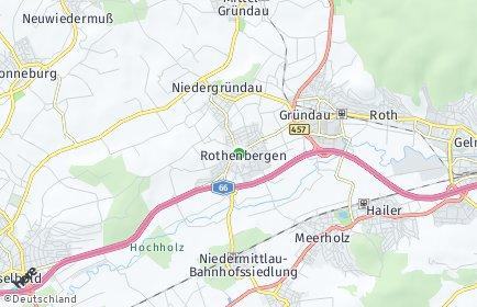 Stadtplan Gründau