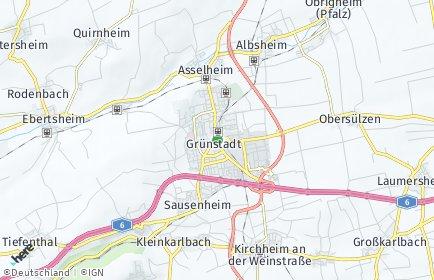 Stadtplan Grünstadt