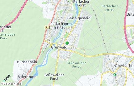 Stadtplan Grünwald